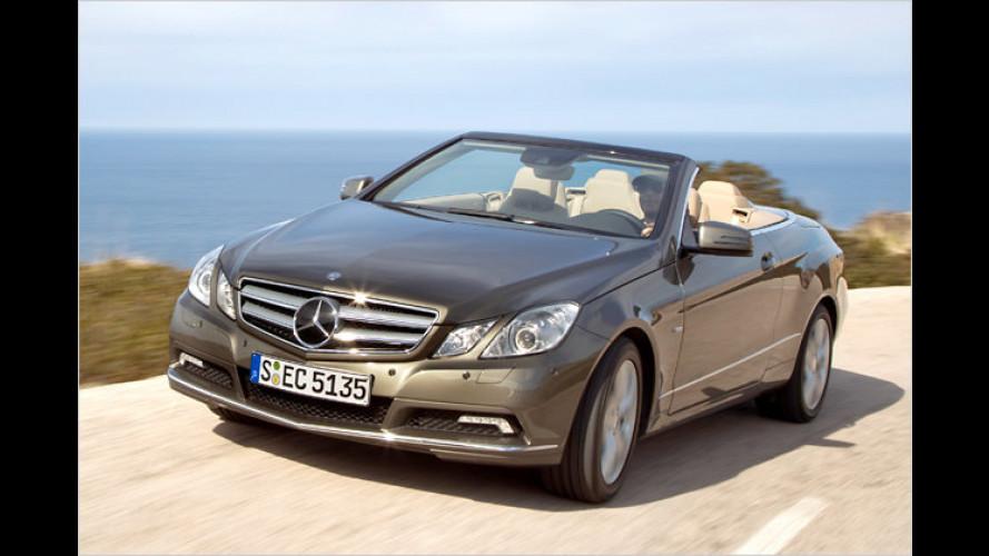 Feiner Viersitzer: Das neue E-Klasse Cabrio im Test