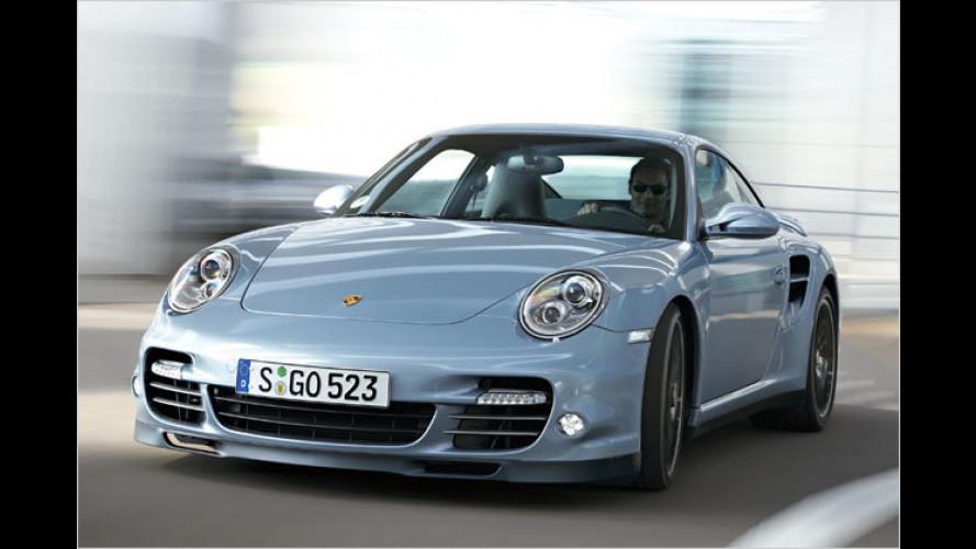S wie stärker und schneller: Porsche 911 Turbo S im Test