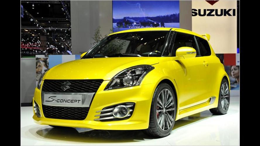 Suzuki Swift S-Concept: Das kleine Sport-Studio