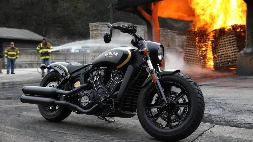 Indian Motorcycle lanza la edición limitada Scout Bobber Jack Daniel's