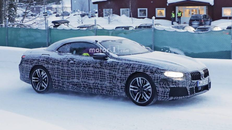The new BMW 8 Series convertible can't hide from us in camouflage