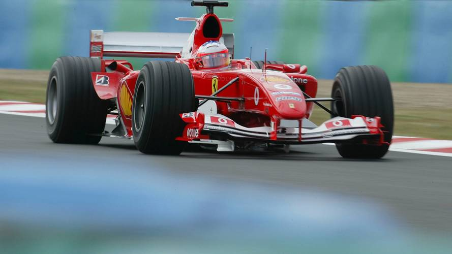 Schumacher's Ferrari F2004 coming to Autosport International