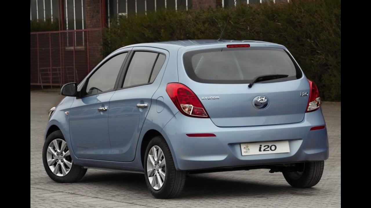 Hyundai i20 reestilizado tem as primeiras imagens reveladas
