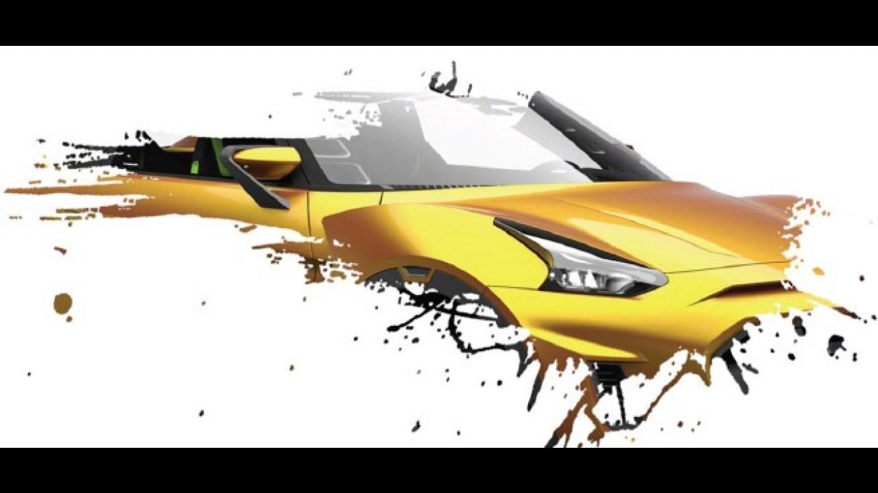 Nissan mostra detalhes de inédito conceito que apresentará no Salão do Automóvel