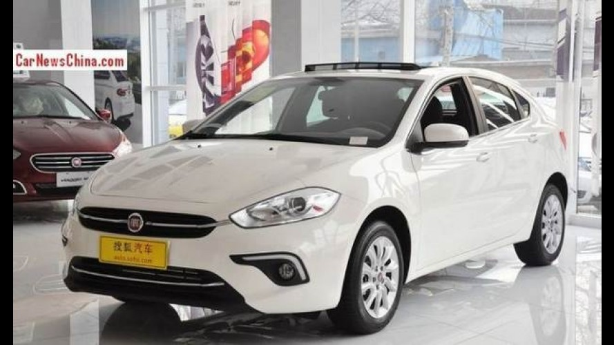 Sucessor do Bravo, Fiat Ottimo custa o equivalente a R$ 41,4 mil na China