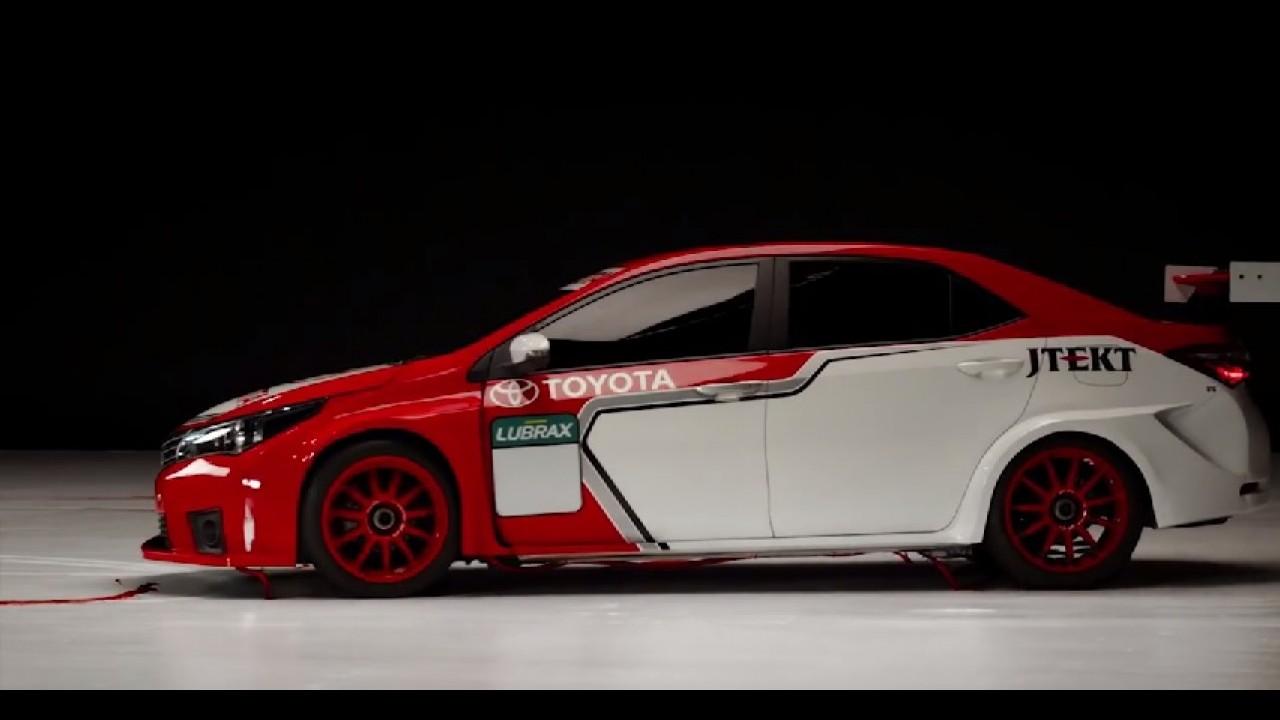 Toyota mostrará versão de competição do Corolla no Salão do Automóvel