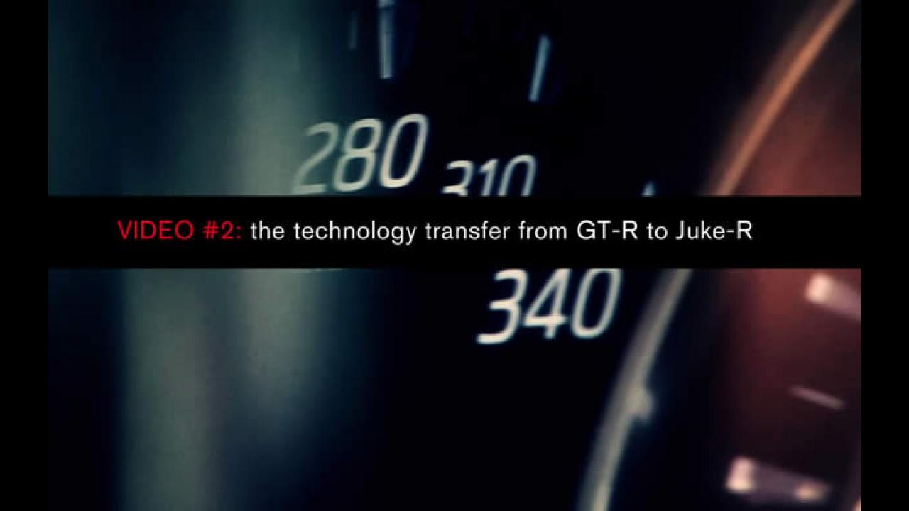 Novo vídeo mostra transferência da tecnologia do Nissan GT-R para o Juke-R