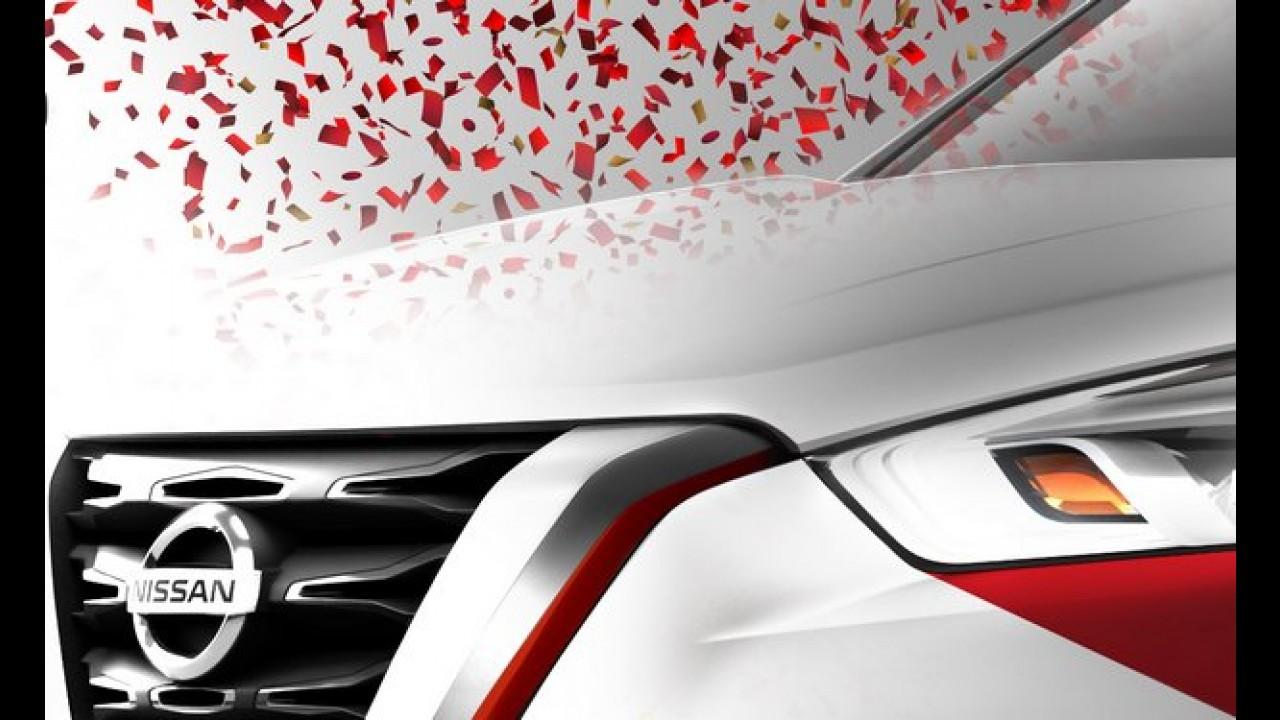 Nissan divulga novo teaser do Kicks e promete surpresa no Carnaval