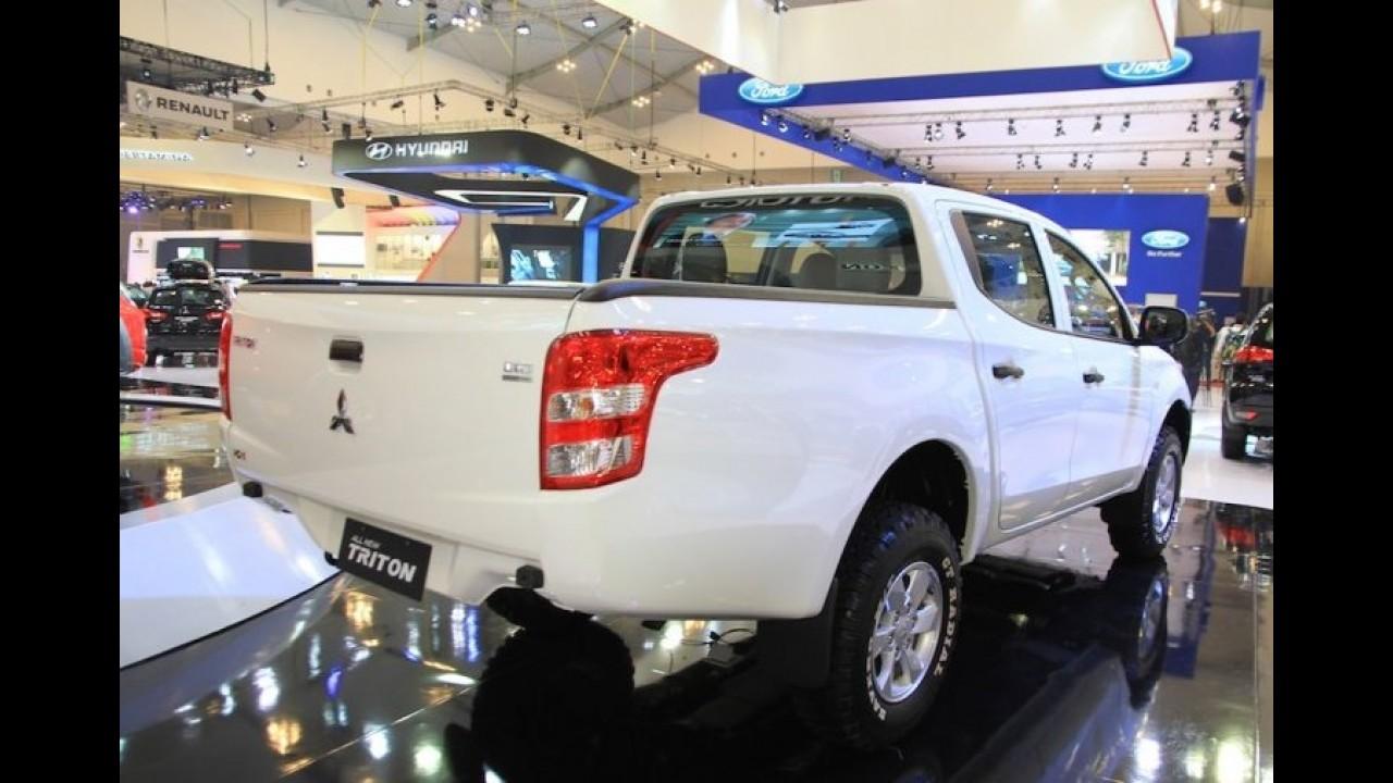 Nova L200 Triton é lançada na Indonésia pelo equivalente a R$ 72 mil