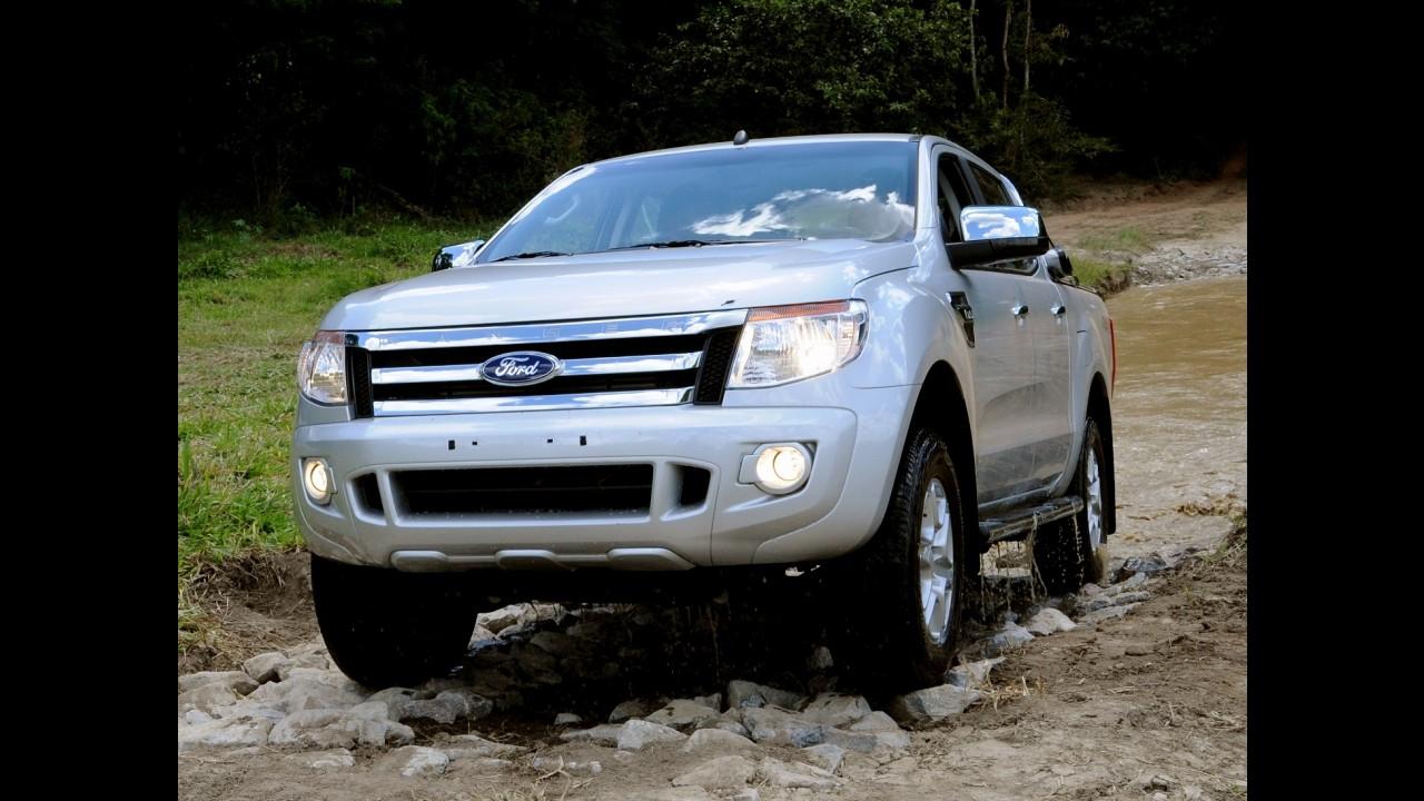 Ford Ranger agora tem duplo airbag de série em todas as versões