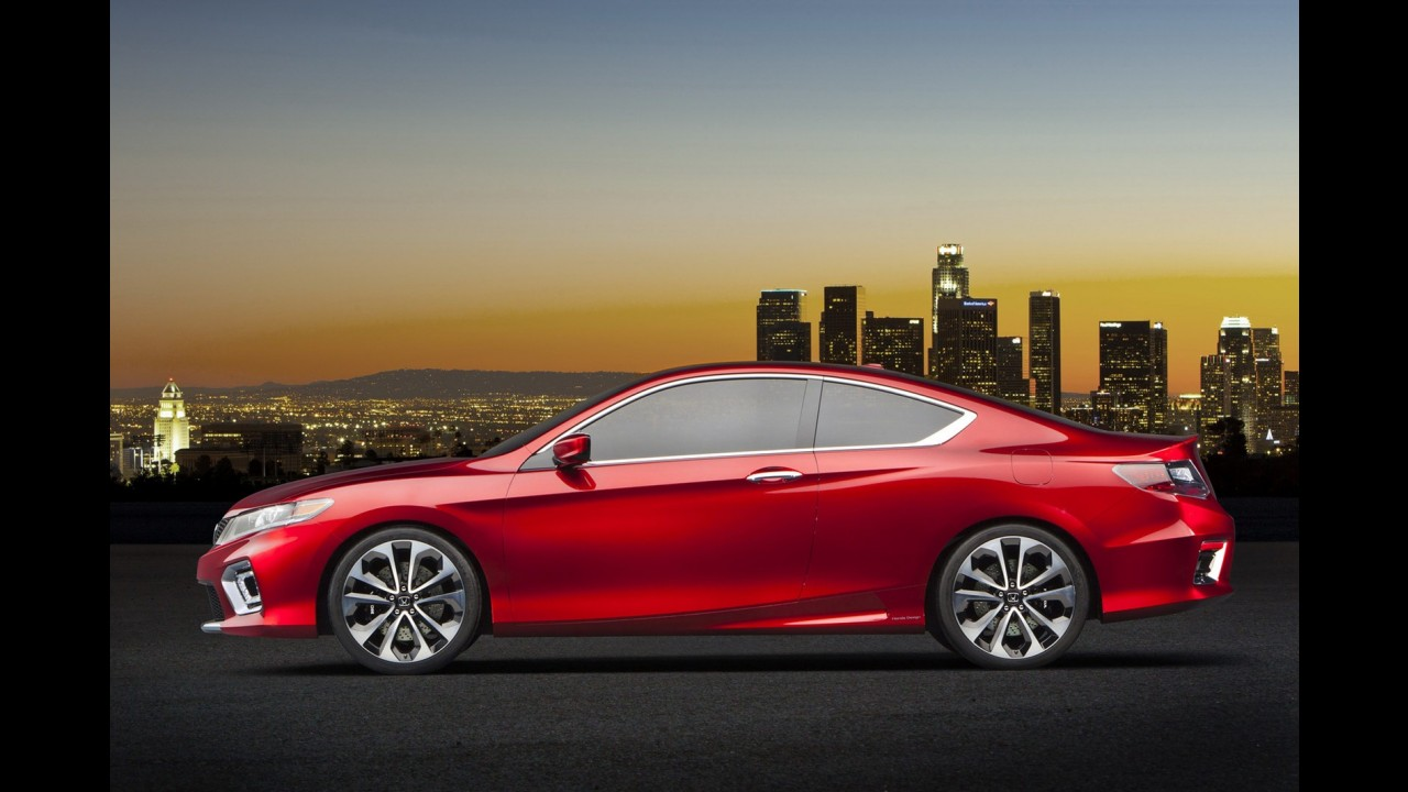 Salão de Detroit: Honda revela Accord Coupe Concept
