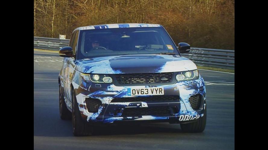 Range Rover Sport SVR acelera forte e se torna SUV mais rápido de Nürburgring