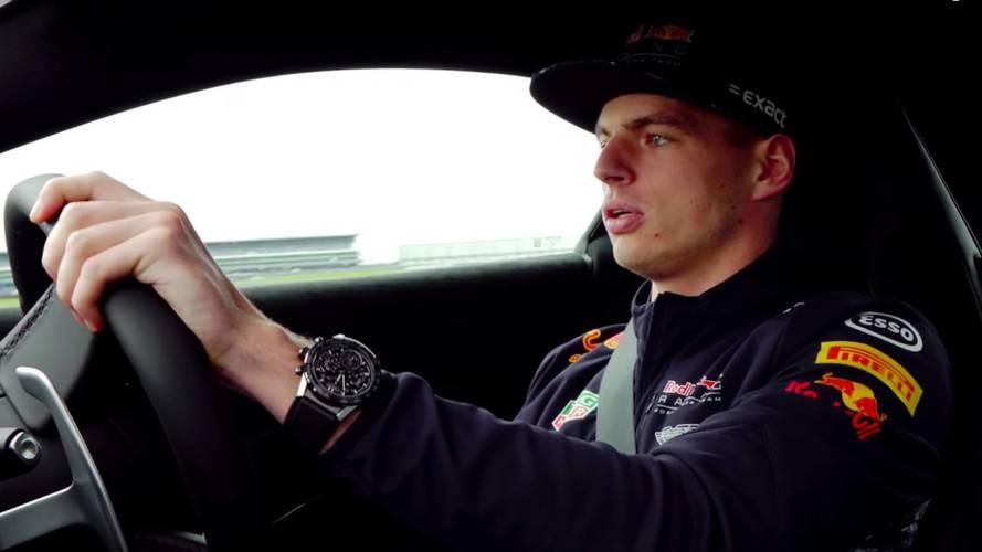 Vídeo: Max Verstappen prueba en circuito el Aston Martin Vantage 2018