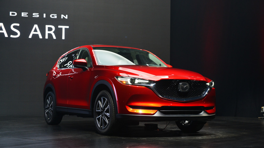 Rival do CR-V, Mazda CX-5 2017 fica mais sofisticado