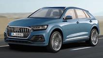 Audi Q8 projeção