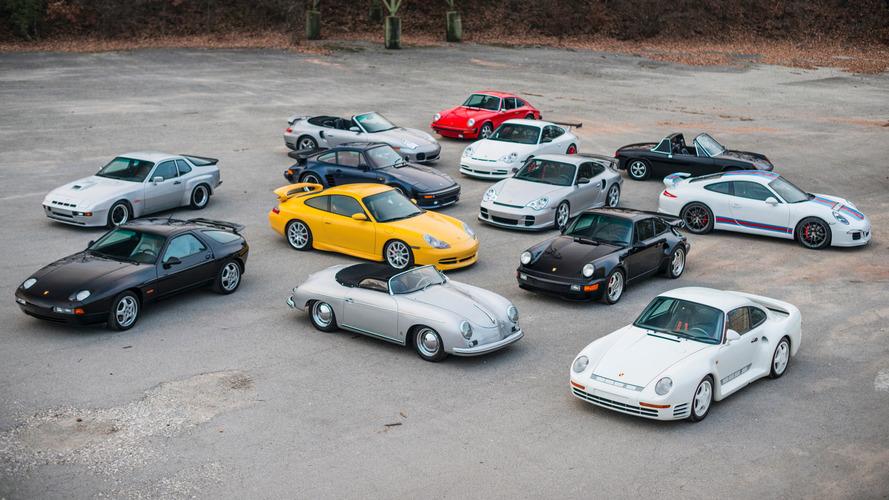 Une collection unique de 42 Porsche... à vendre !