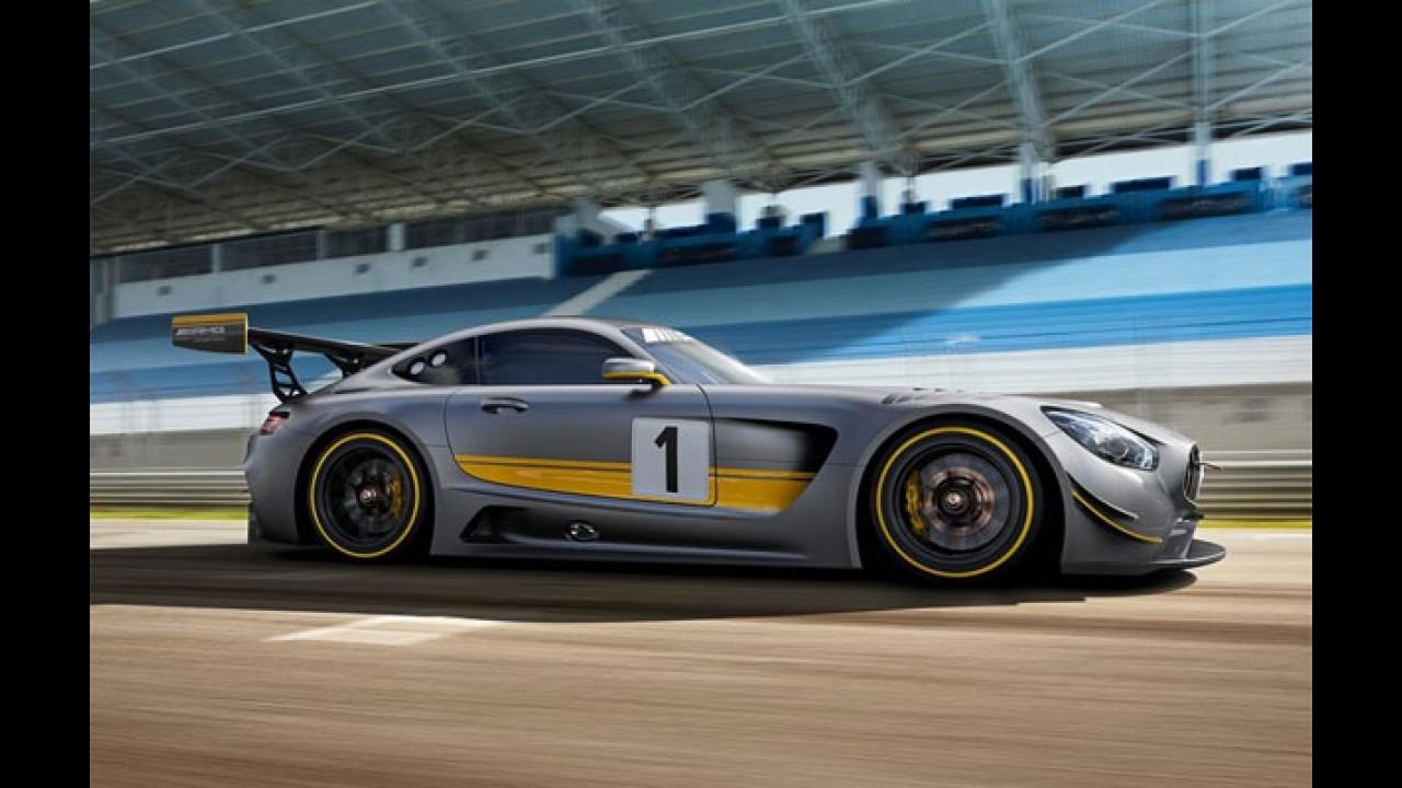 Veja as primeiras fotos oficiais do Mercedes AMG GT3 V8 6.3