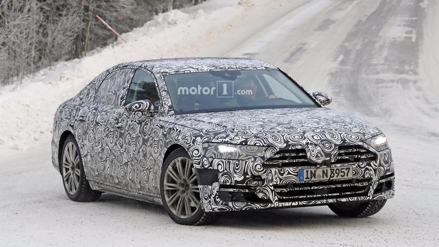 Audi A8 2018 Photos espion