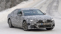 2018 Audi A8 spy photos