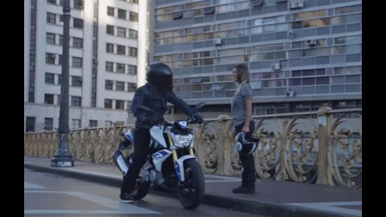 Surpresa! Nova BMW G310R já aparece rodando no Brasil (vídeo)