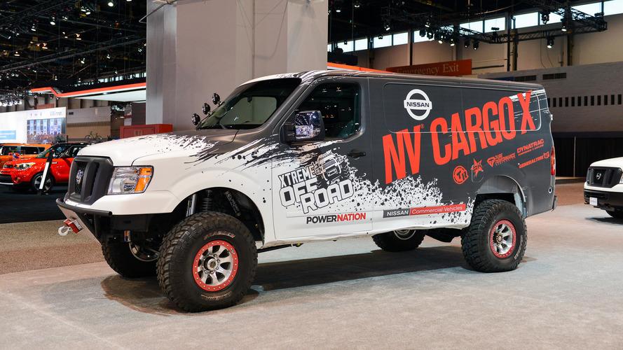 'İkisi bir arada' Nissan NV Cargo X de Chicago'da yerini aldı