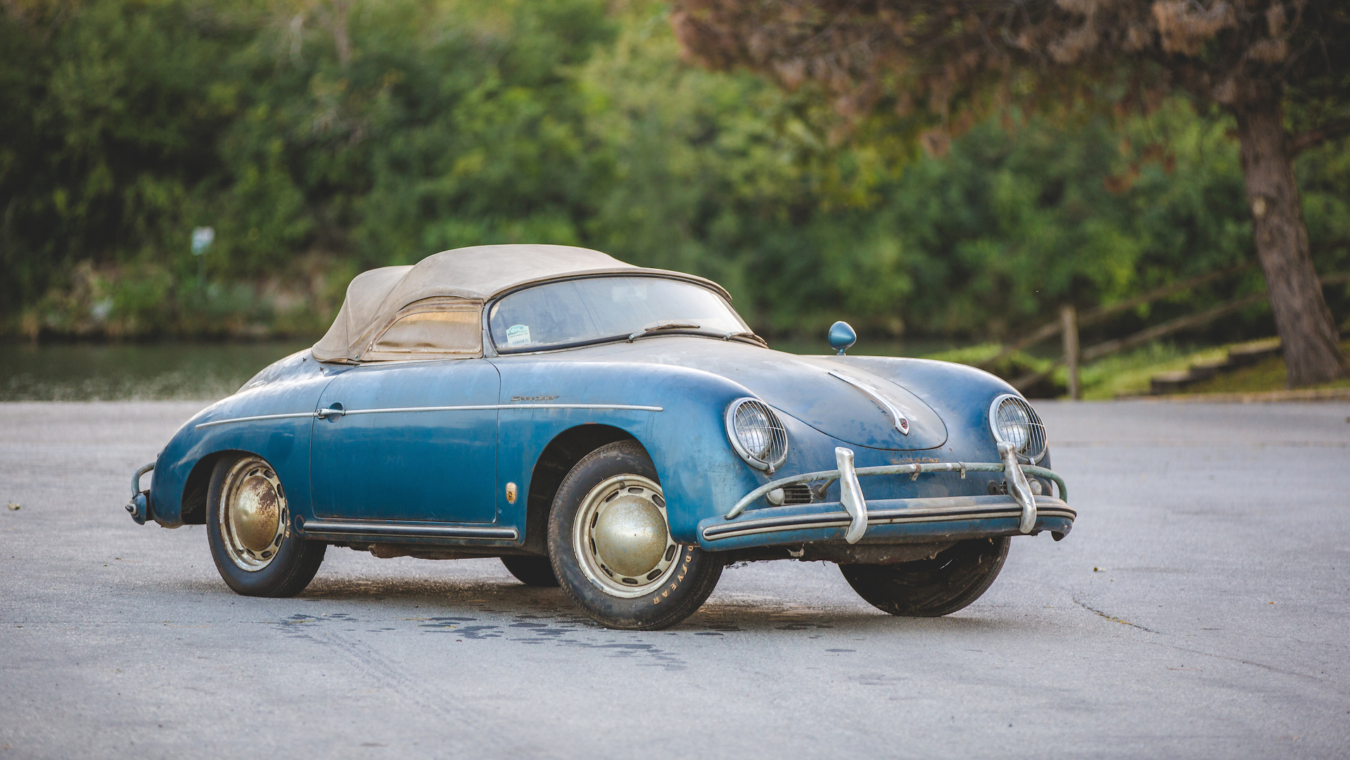 Barn find Porsche 356 Sdster heads to auction with original dust