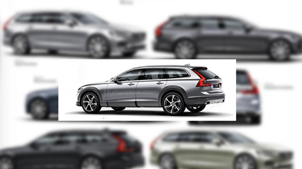 Volvo V90 Cross Country fotoğrafları internette
