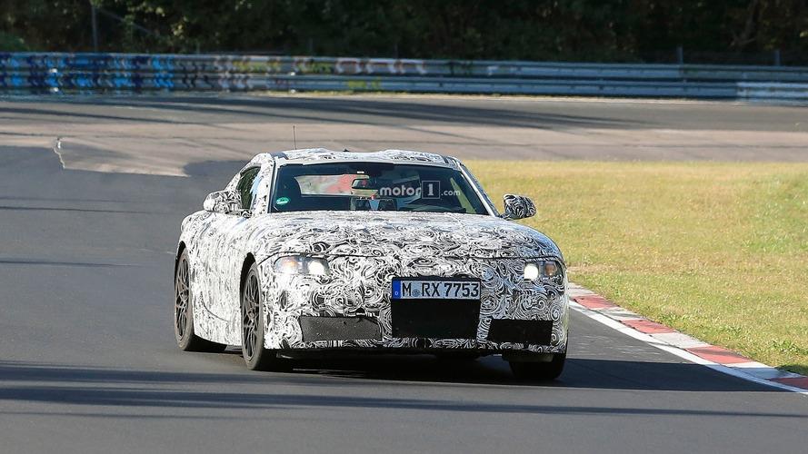 Toyota Supra Nürburgring casus fotoğrafları