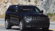2018 Jeep Grand Cherokee Trackhawk spy photos
