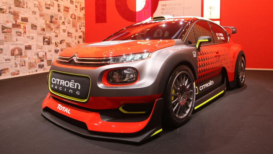 380 hp citroen c3 wrc concept let loose in paris. Black Bedroom Furniture Sets. Home Design Ideas