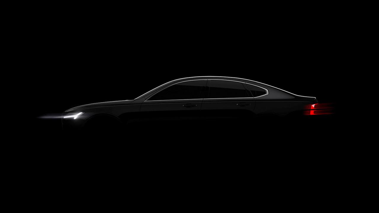 Volvo S90, i primi teaser