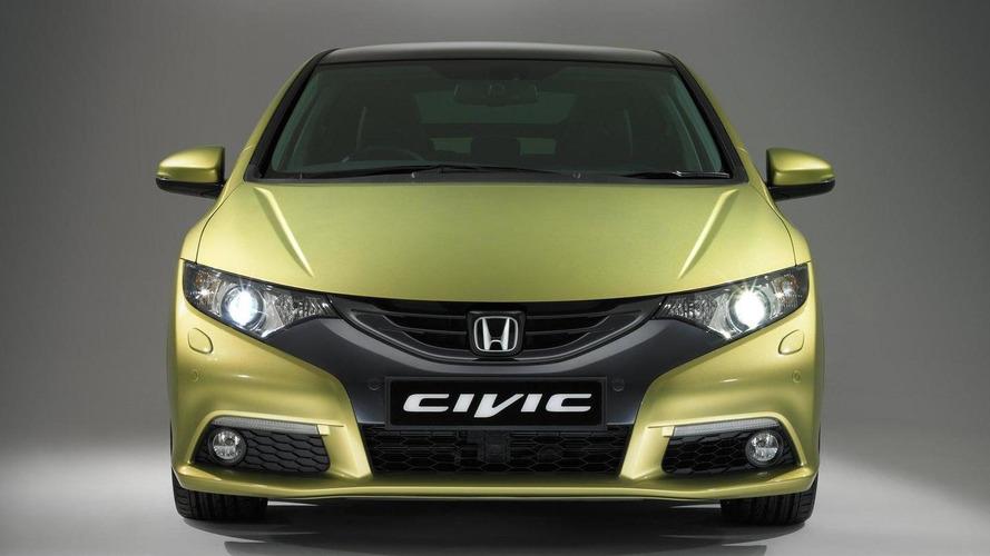 2012 Honda Civic 5-door Euro-spec in detail [video]