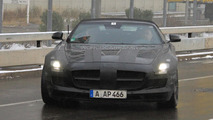 2012 Mercedes SLS AMG Roadster spy photos - 12.16.2010