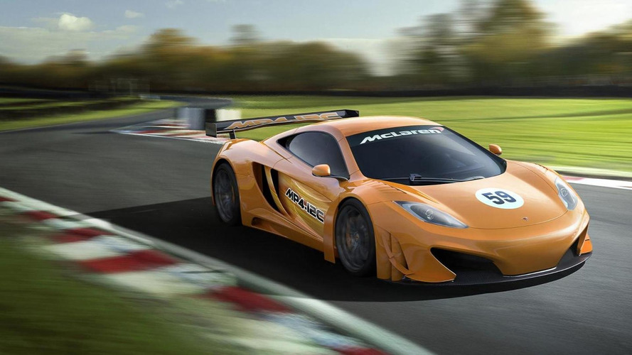 McLaren MP4-12C GT3 on the track in Spain ahead of debut race [videos]