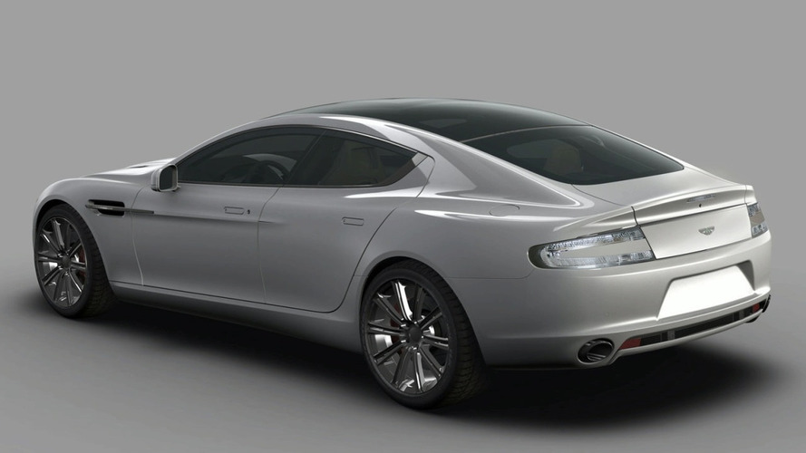 Production Aston Martin Rapide Images Leaked
