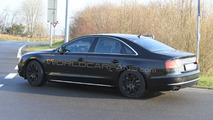 2012 Audi S8 First Spy Photos at Nurburgring 14.04.2010