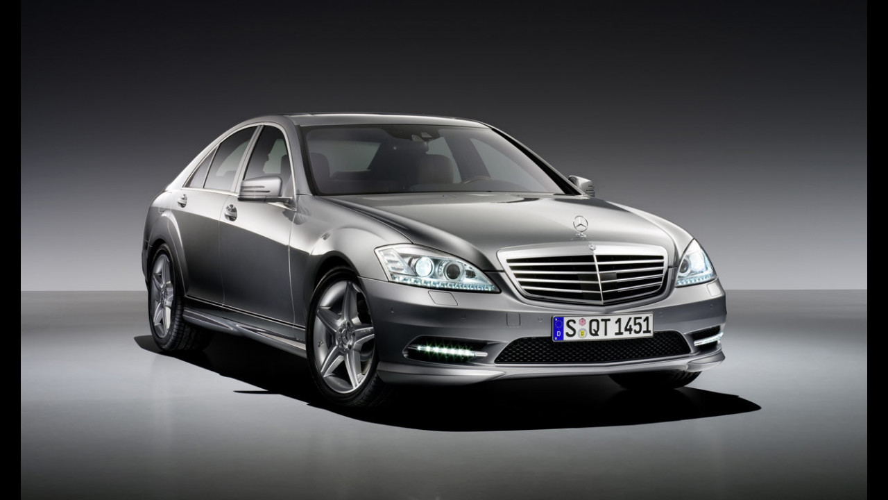 Mercedes Classe S con AMG Sports pack