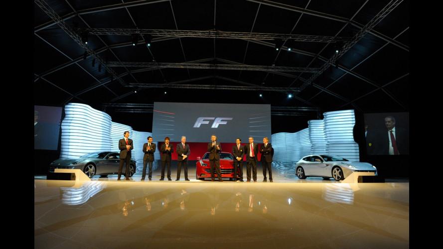 La notte della Ferrari FF