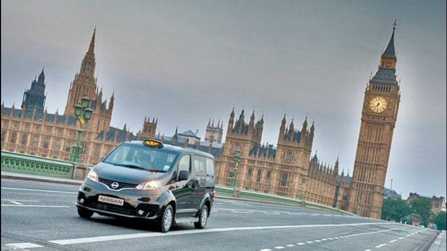 Olimpiadi Londra 2012, la Nissan NV200 si fa Taxi