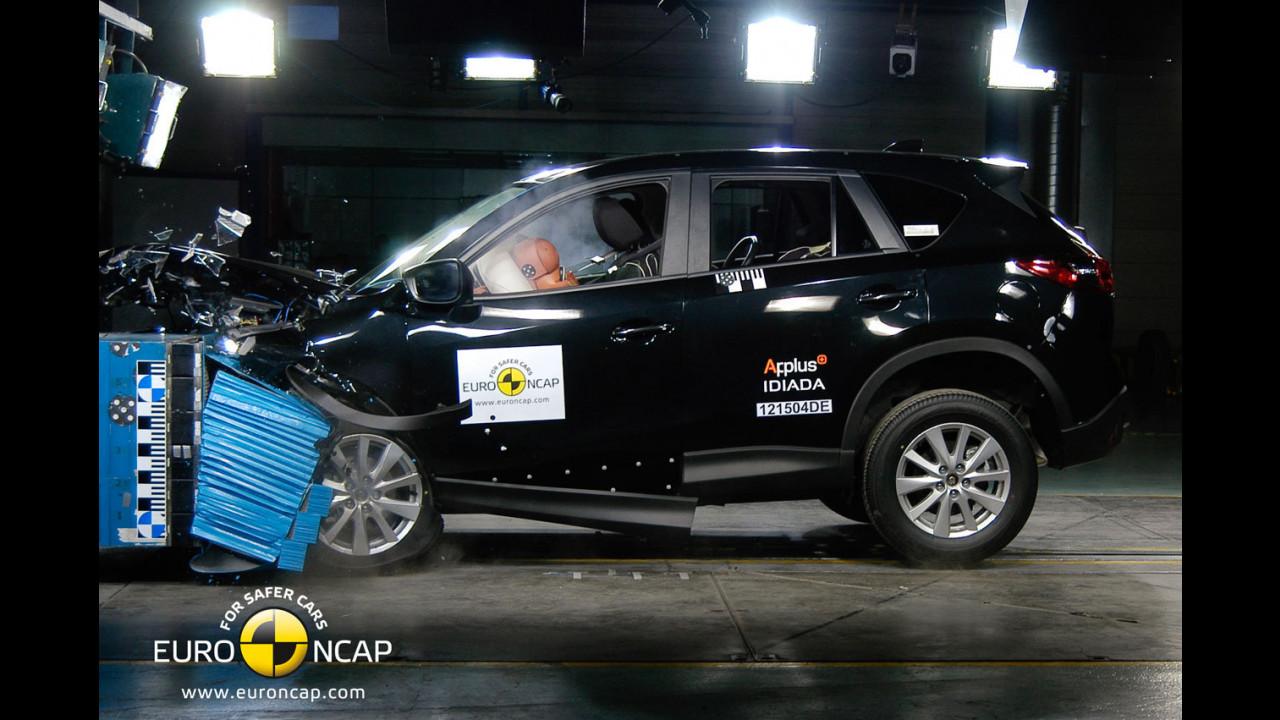 Crash test Mazda CX-5