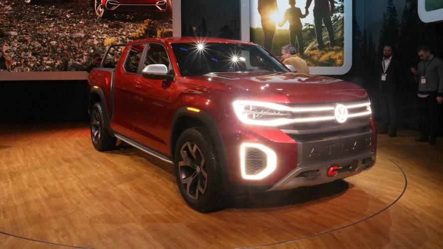Volkswagen Atlas Tanoak Concept - Le pick-up des familles