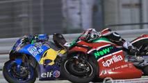 Franco Morbidelli, Estrella Galicia 0,0 Marc VDS, Aleix Espargaro, Aprilia Racing Team Gresini