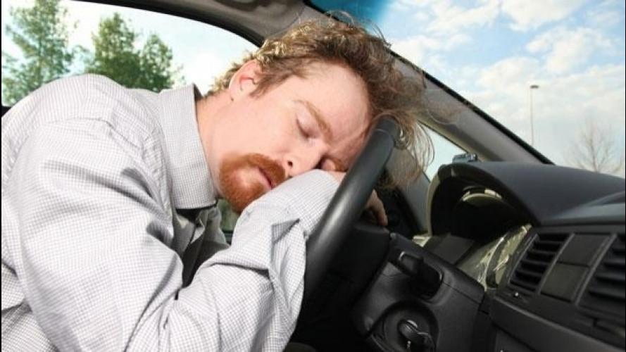 Colpi di sonno, un getto di aria fredda per evitarli