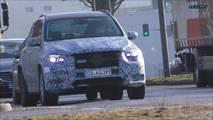Mercedes-AMG GLE 53 spy photo