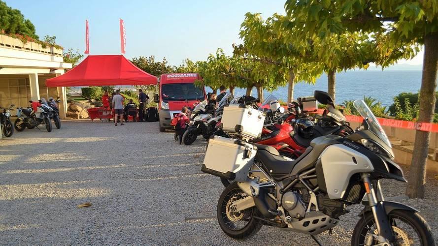Rally turístico 'Dos Mares' de Ducati España