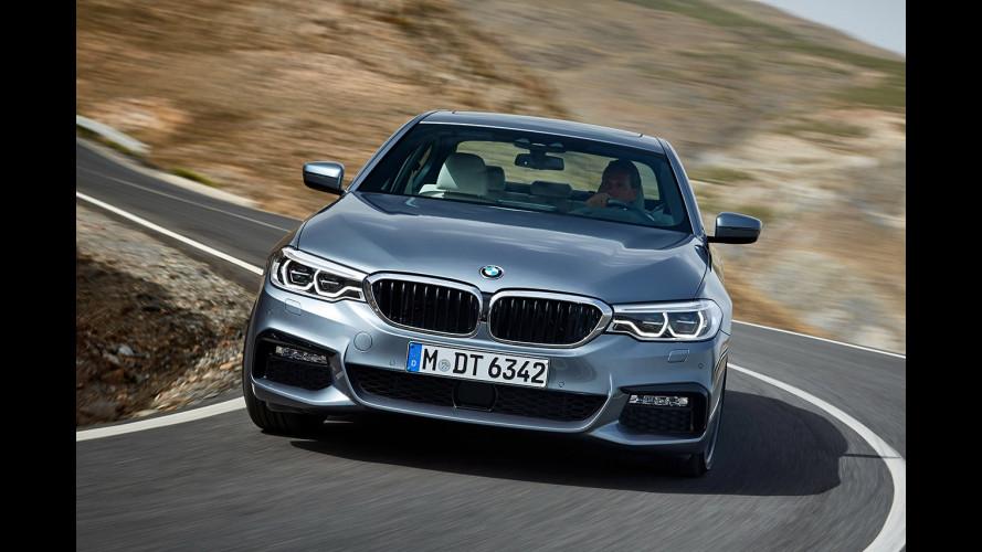 BMW Serie 5 e le altre, le berline preferite dagli italiani