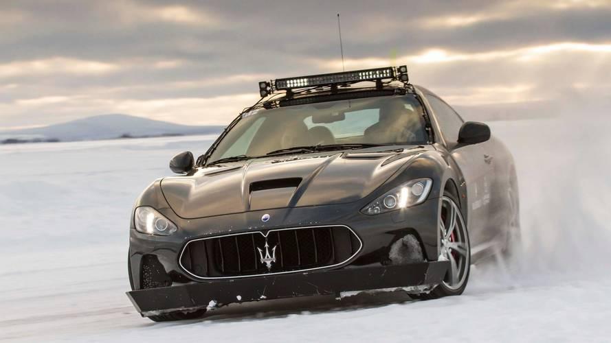 Road Trip - À l'assaut du Laponie Ice Driving en Maserati !