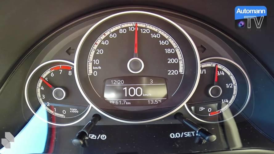 Volkswagen Up! GTI'ın 0'dan 100'e çıkışını izleyin