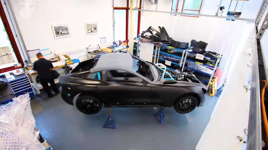 See The TVR Griffith Come Alive In 3 Minutes