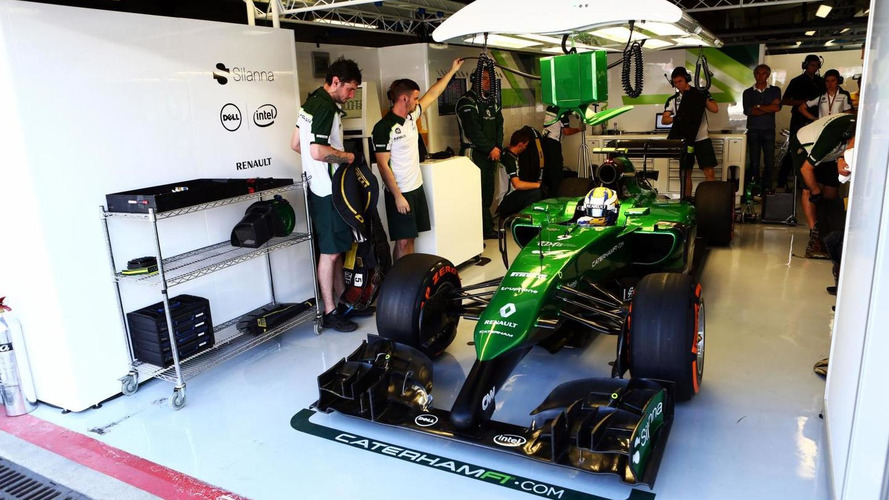 End of the line as Caterham plans assets auction